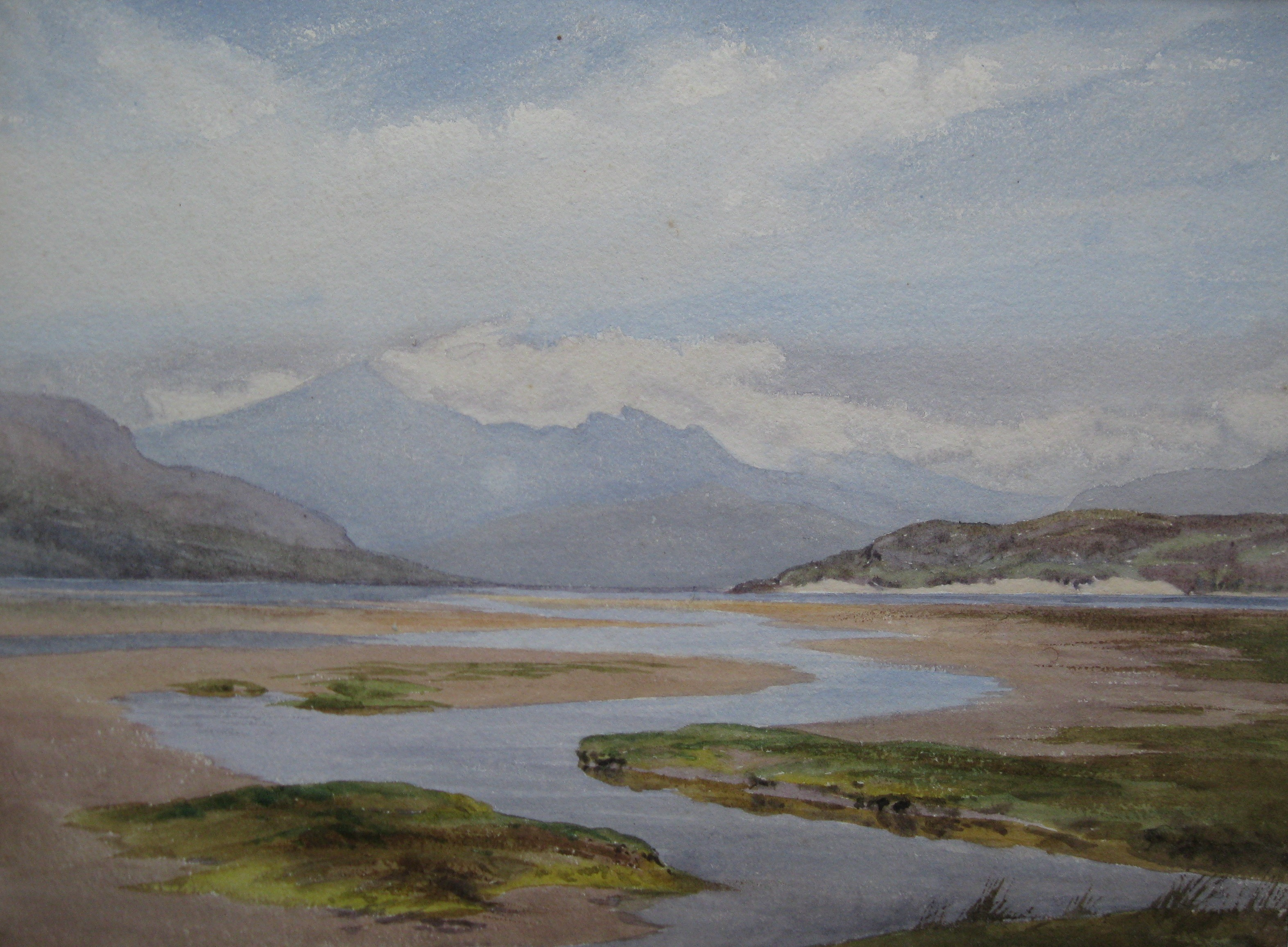 Chares James Adams 06 ( view of estuary in North Wales?)