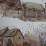 Charles James Adams 11 (Sketch of Farm buildings)