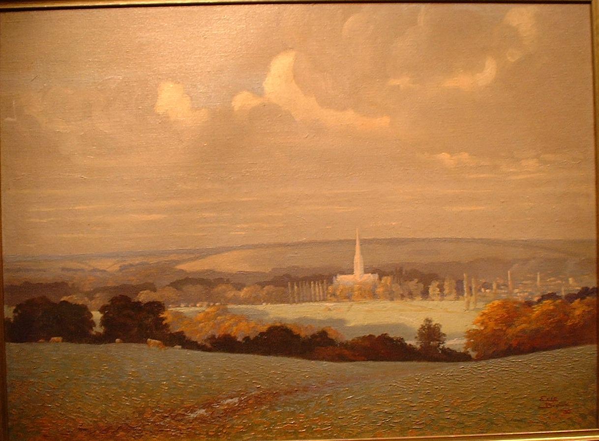 Eric Brown view of Salisbury
