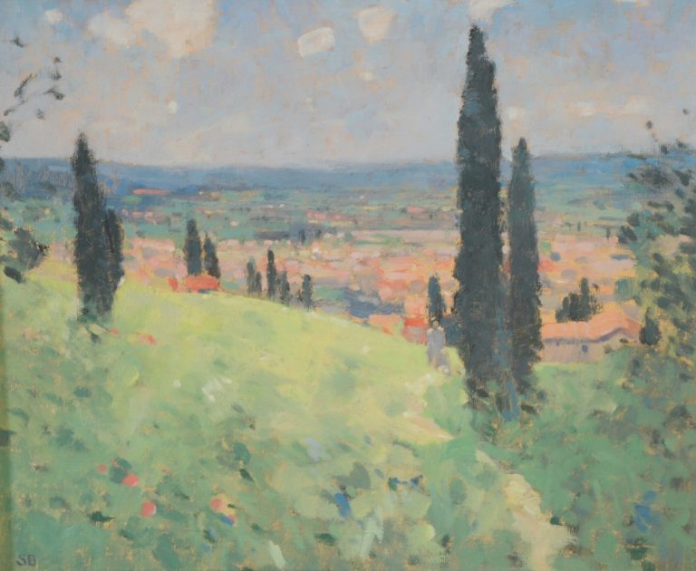 Stephen Brown (Tuscan Landscape?)