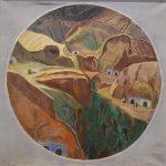 Jo Jones Oil on Canvas Gypsies in Granada